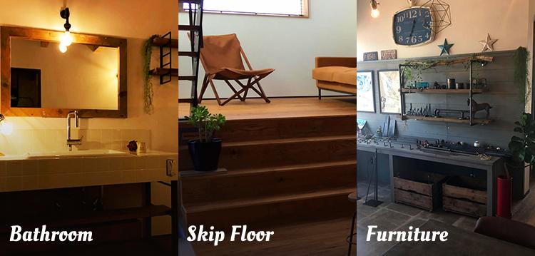 Bathroom/Skip Floor/Furniture